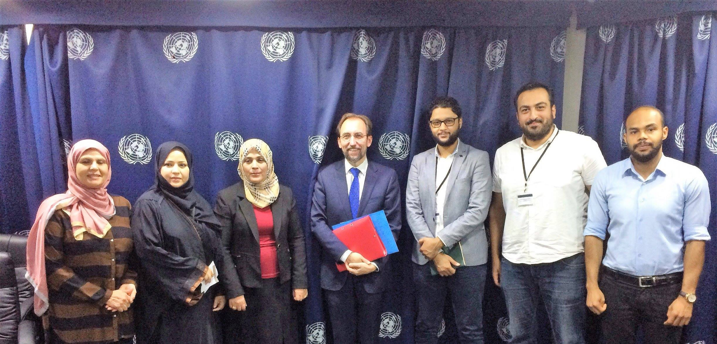 'The Platform' in meetings with UN Libya Envoy and UN High Commissioner for Human Rights: Disregard for international mechanisms of accountability is the primary obstacle for peace.