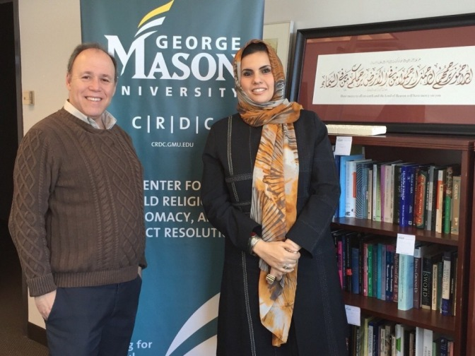 New Partnership Between the Libyan Women's Platform for Peace & the Center for World Religions, Diplomacy & Conflict Resolution (CRDC) at George Mason University